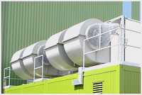 Closed stainless steel cooling towers