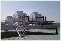 Open stainless steel cooling towers KAD: